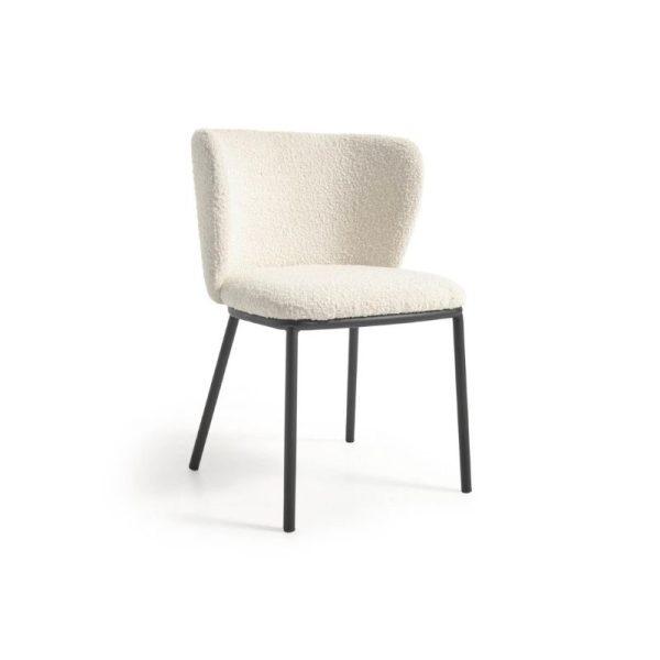 Kėdė CISELIA 55x52x75h balta
