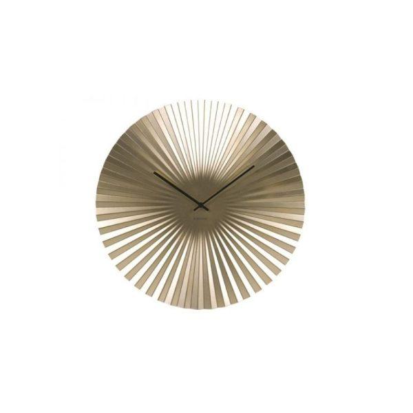 Laikrodis SENSU XL Ø50 metalinis aukso spalvos