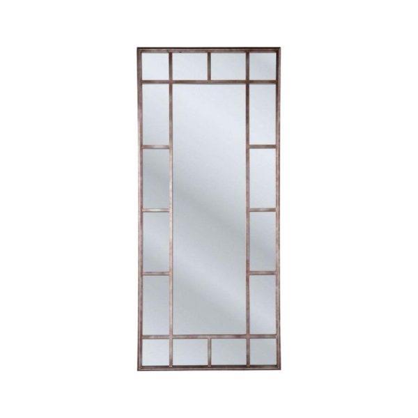 Veidrodis WINDOW 90x3x200h sendinto aukso