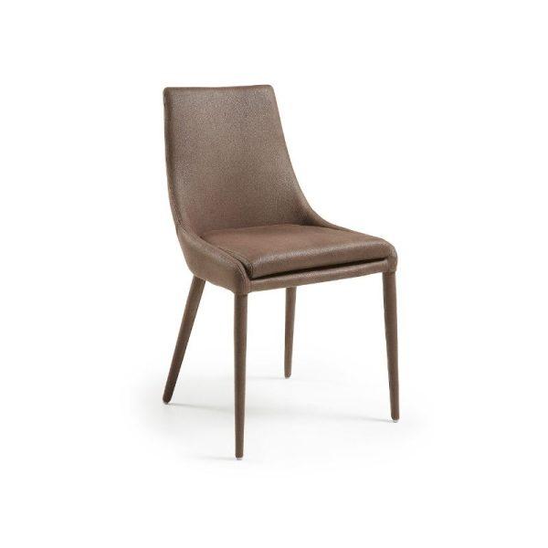 Kėdė DANT 60x51x87h Eco-Nobuck ruda