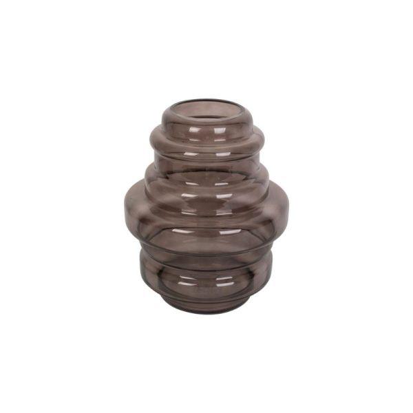 Vaza DISTINCT 25x30h šokolado ruda