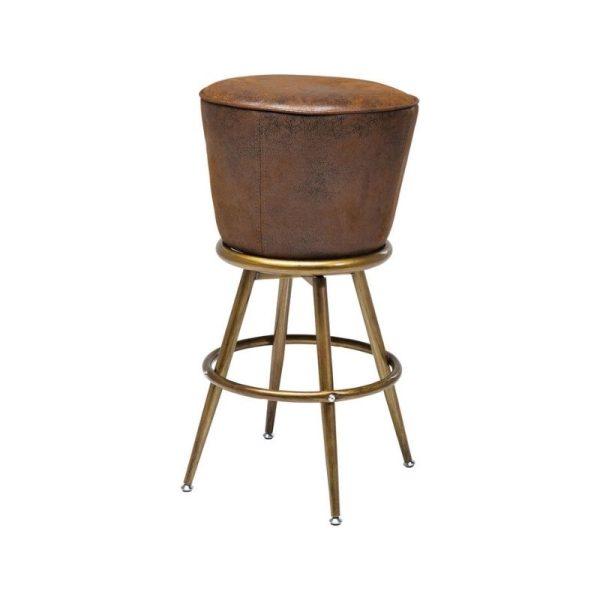 Baro kėdė LADY 48x48x73h ruda
