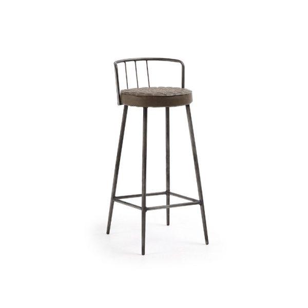 Baro kėdė TIVA 44x47x92h ruda