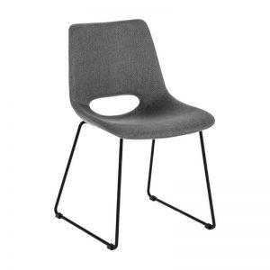 Kėdė ZIGGY 49x55x79h pilka