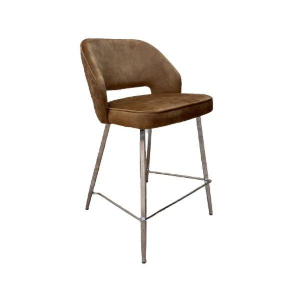 Pusbario kėdė UNA 46x62x88h garstyčių spalvos