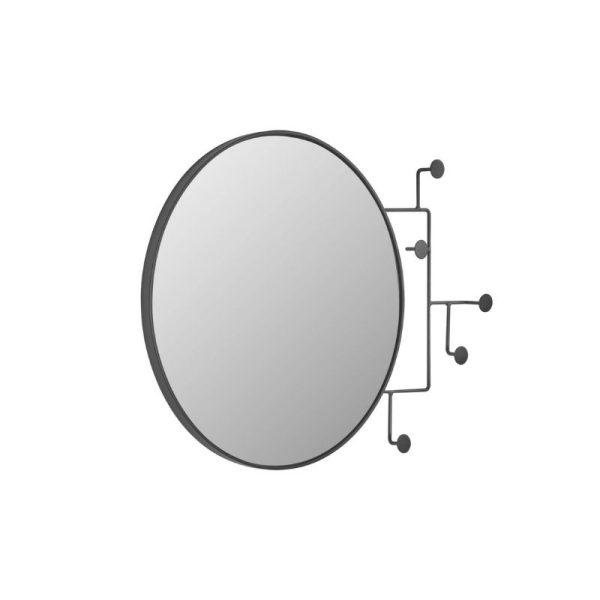 Veidrodis pakaba VIANELA 70x51h juodas metalas