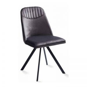 Kėdė ROUND 46x55x86h pilka
