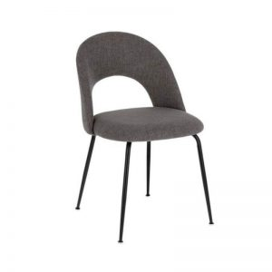 Kėdė MAHALIA 51x52x79h tamsiai pilka