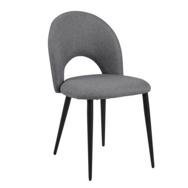 Kėdė DELIA 46x57x82h pilka