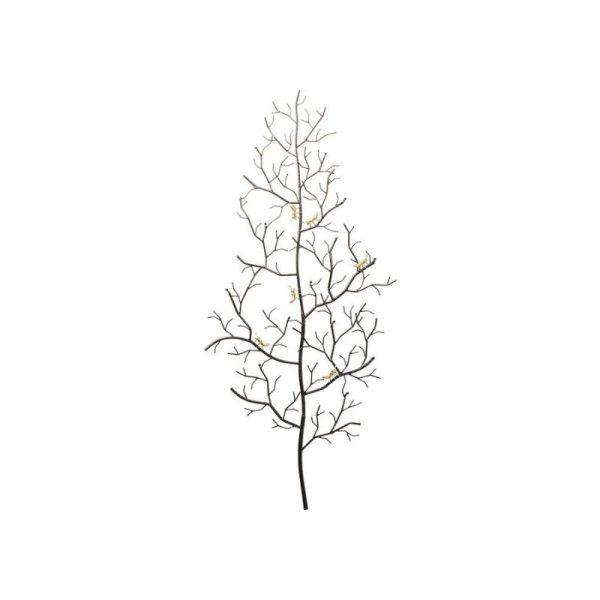 Pakaba ANTS 68.5x7.5x160 juoda su auksu