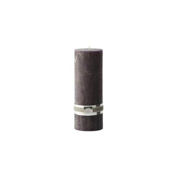Žvakė RUSTIC PILLAR 7.5x20h violetinė