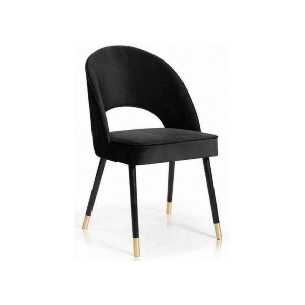 Kėdė ETNO 54x63x89h pilkai rusva