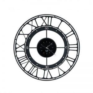 Laikrodis Koros Ø90 juodas