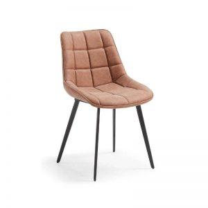 Kėdė ADAM 51x59x83h konjako ruda