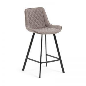 Pusbario kėdė ARIAN 50x53x95h taupe