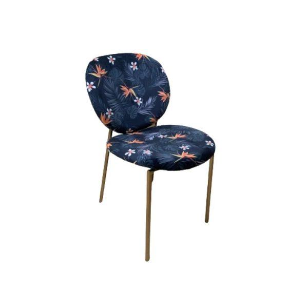 Kėdė AVELA 62x46x82h tamsiai marga