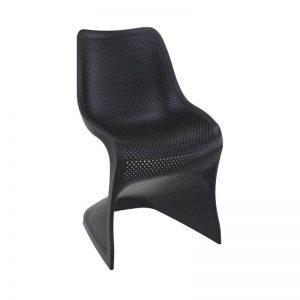 Kėdė BLOOM 58x50x85h juoda
