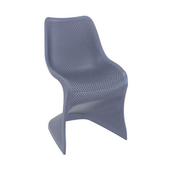 Kėdė BLOOM 58x50x85h pilka