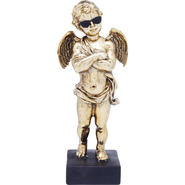 Dekoracija Auksinis Angelas 11.7x9x29h