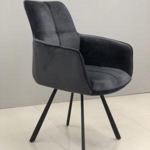 Krėsliukas LIVIA 58x59x90h pilkas