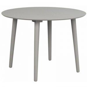 Apvalus stalas LOTTA Ø106 šviesiai pilkas