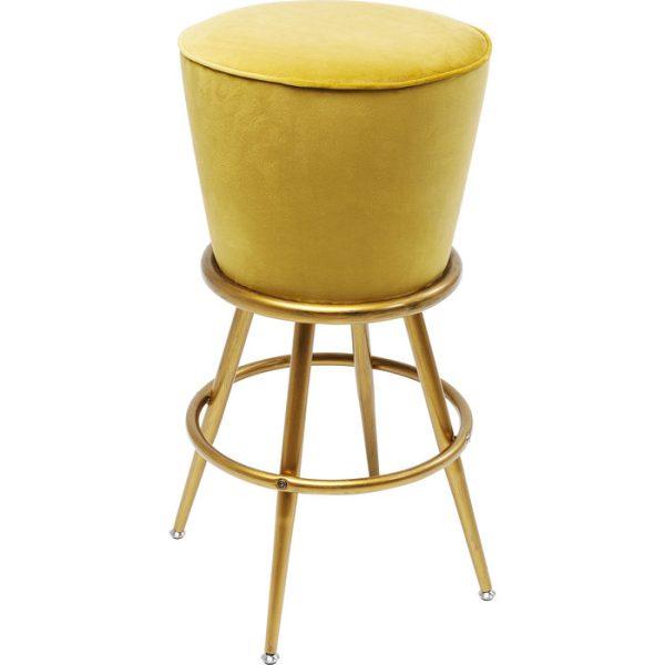 Pusbario kėdė LADY 48x48x73h garstyčių spalva