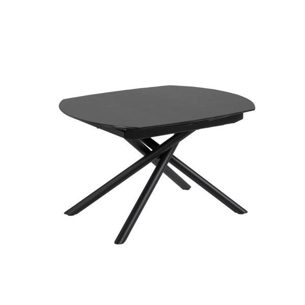 Išskleidžiamas stalas YODALIA130(190)x100cm juodas