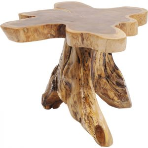 Kavos staliukas TREE BIG50x50x40h tikmedis
