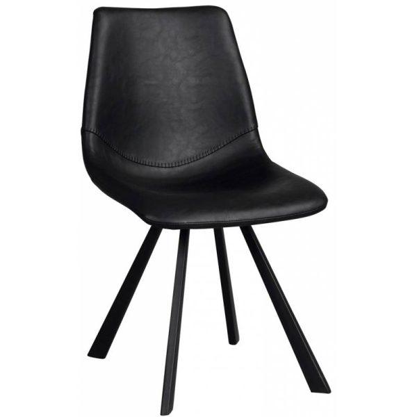 Kėdė ALPHA 46x60x83h juoda