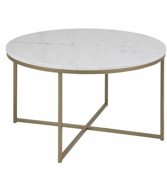 Kavos staliukas ALISMA 80x46h baltas
