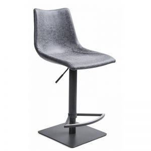 Baro kėdė AVENA 46x52x97H grafitas