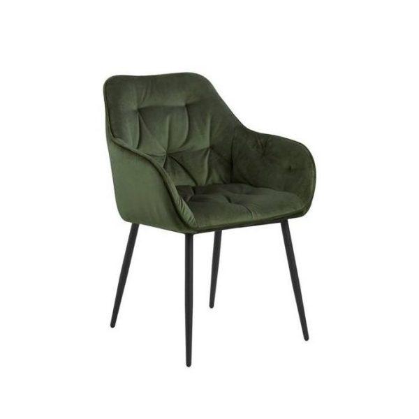 Krėsliukas MIA 55x58x83h samanų žalias