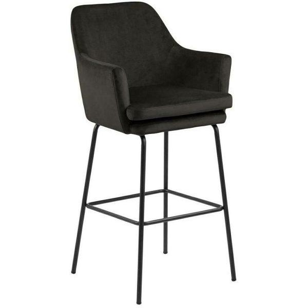 Baro kėdė HESSA 56x56x109h pilkšvai rusva