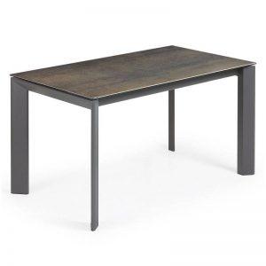 Išskleidžiamas stalas ATTA 120(180)x80 IRON MOSS