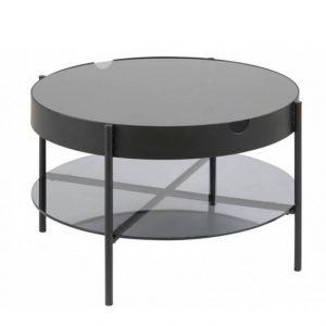 Kavos staliukas TIPTON 75x45h juodas