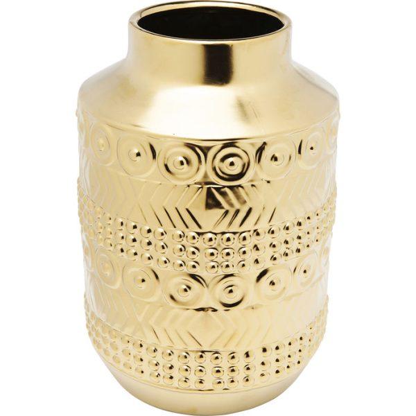 Vaza Machu Picchu 21x21x31h aukso spalva