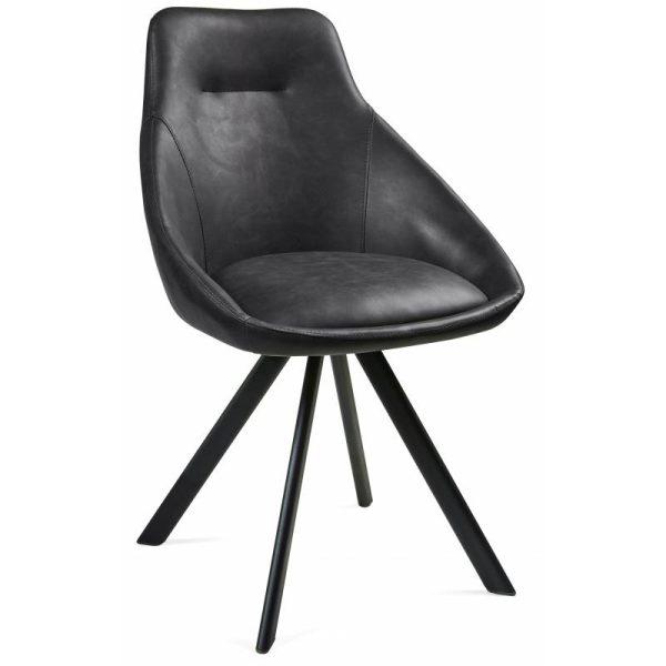 Kėdė ALUMNA 55x58x87h pilka spalva