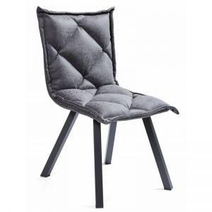 Kėdė BELLA 53x60x83h grafitas