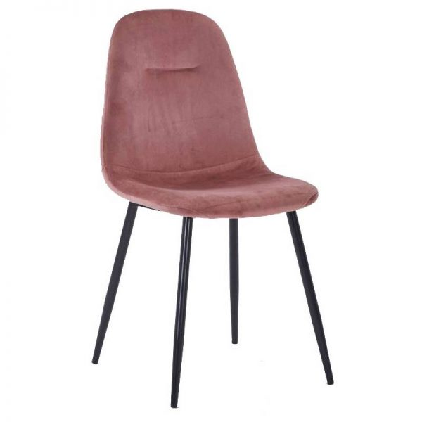 Kėdė CONNY 44x54x85h tamsiai rožinė
