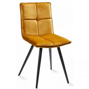 Kėdė LUNA 46x55x86h garstyčių spalva