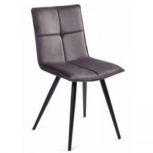 Kėdė LUNA 46x55x86H pilka spalva