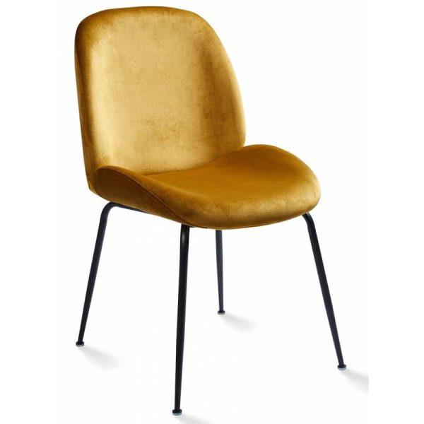 Kėdė PIA 48x60x85h garstyčių spalva