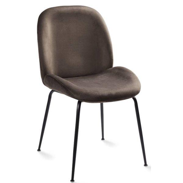 Kėdė PIA 48x60x85h pilka spalva