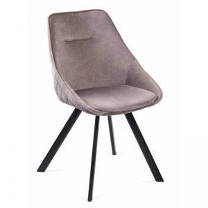 Kėdė RUBY 55x57x83h kapučino spalva