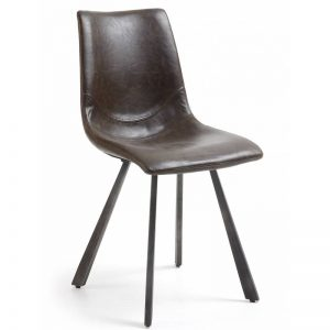 Kėdė TRAC 45x49x86h tamsiai ruda