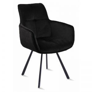 Krėsliukas LIVIA 58x59x90h juodas