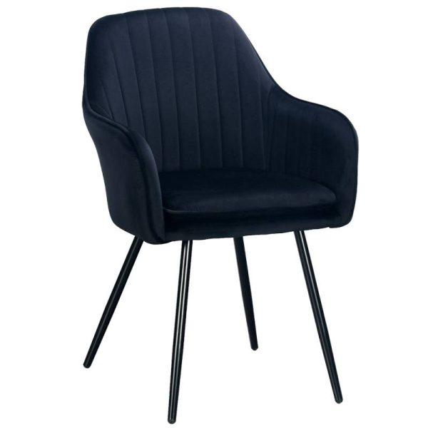 Krėsliukas MOREN 58x60x85H juodas