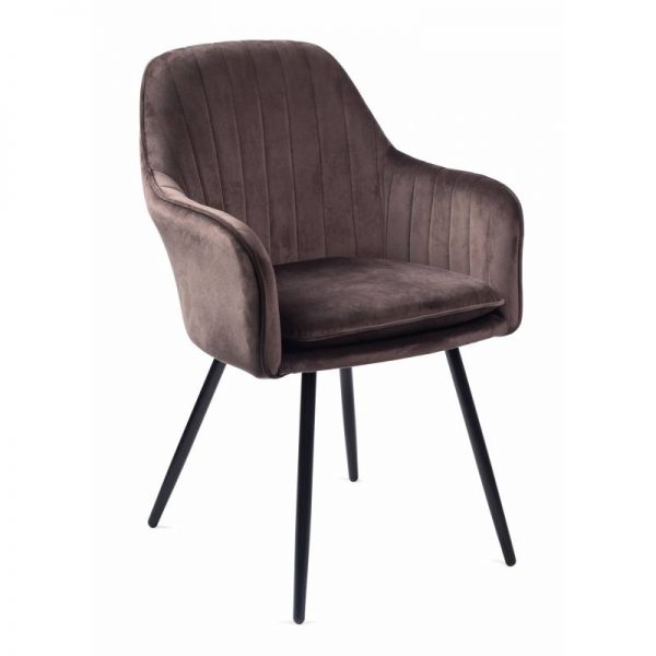 Krėsliukas MOREN 58x60x85H tamsiai rudas