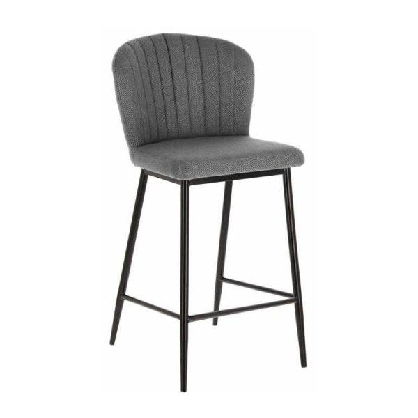 Pusbario kėdė MADGE 55x47x96h pilka