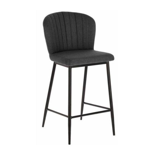 Pusbario kėdė MADGE 55x47x96h tamsiai pilka